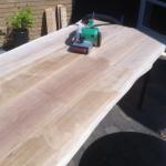 pudsning af plankebord